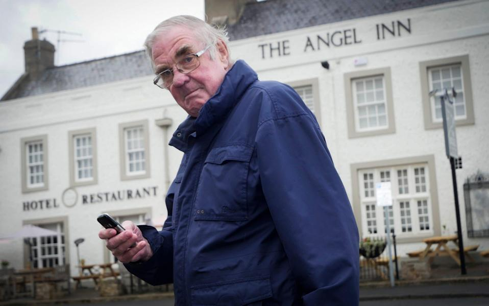 David Walters who was barred entry to the Angel Inn in Corbridge - Mark Pinder