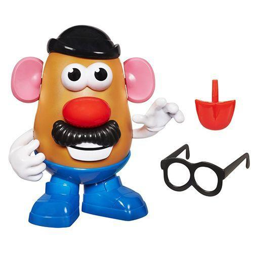 """<p><strong><em>Playskool Mr. Potato Head</em></strong><strong><em>, $7</em></strong> <a class=""""link rapid-noclick-resp"""" href=""""https://www.amazon.com/Mr-Potato-Head-27657-Playskool/dp/B005KJE9L2/?tag=syn-yahoo-20&ascsubtag=%5Bartid%7C10050.g.35033504%5Bsrc%7Cyahoo-us"""" rel=""""nofollow noopener"""" target=""""_blank"""" data-ylk=""""slk:BUY NOW"""">BUY NOW</a></p><p>Mr. Potato Head is a plastic model of a potato that can be decorated with a variety of parts that attach to the main body. It was invented by George Lerner in 1949 as separate plastic parts with pushpins that could be stuck into a real potato. Needless to say, the potatoes began to rot, and Hasbro came up with the plastic version we know and love today.</p>"""