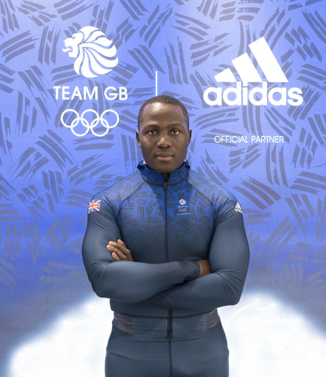 Lamin Deen will go for gold in the bobsleigh this weekend (Andy J Ryan/Team GB)