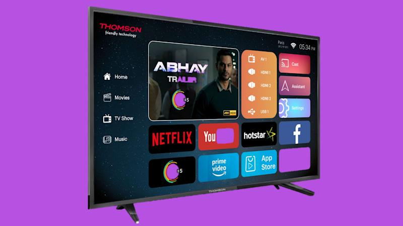 Thomson launches first 40-inch 4K smart TV in India, priced at Rs 20,999