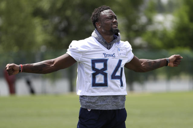 Corey Davis is ready to spread his wings in Year 2 (AP/Mark Humphrey)