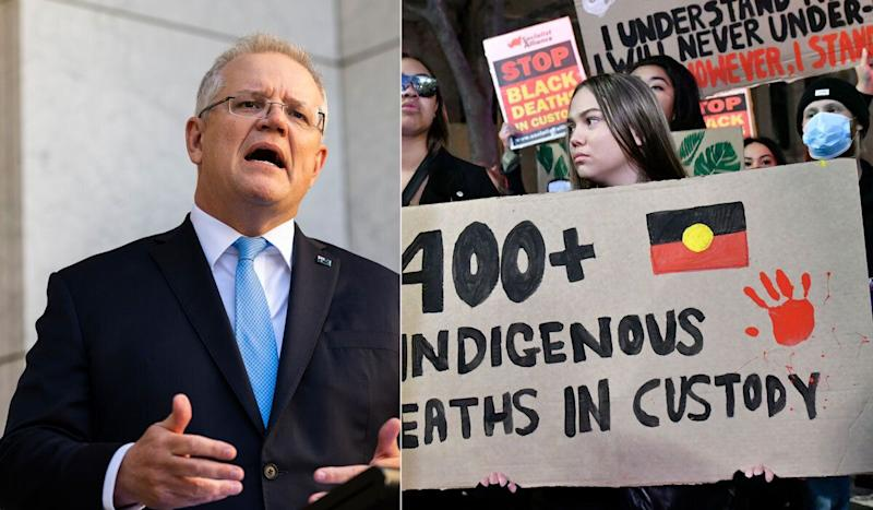 Scott Morrison On Black Lives Matter Protests Amid Coronavirus: 'I Say Don't Go' (Photo: Getty )