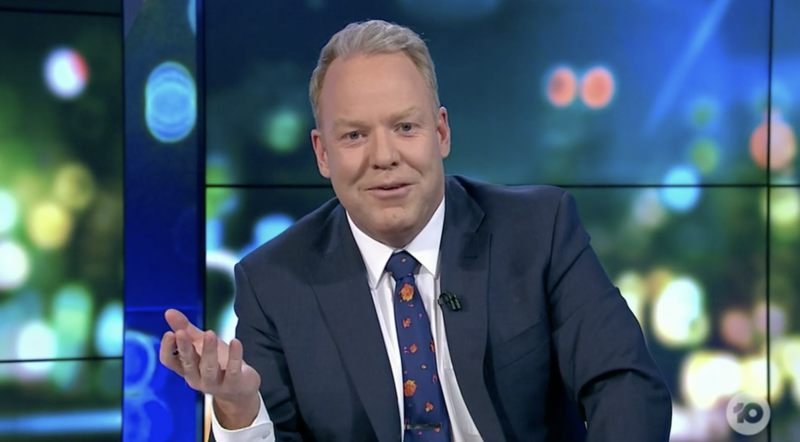 Peter Helliar on The Project