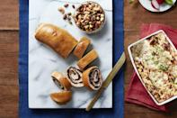 """<p>This mushroom stromboli takes quite a bit of time to prepare, but the end result is so worth it. Serve it at your next dinner party and you'll be hearing rave reviews for weeks.</p><p><em><a href=""""https://www.womansday.com/food-recipes/food-drinks/recipes/a56458/mushroom-and-herb-stromboli-recipe/"""" rel=""""nofollow noopener"""" target=""""_blank"""" data-ylk=""""slk:Get the Mushroom and Herb Stromboli recipe."""" class=""""link rapid-noclick-resp"""">Get the Mushroom and Herb Stromboli recipe.</a></em></p>"""