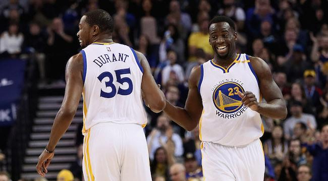 fc66de235d0 Draymond Green Isn t Concerned With The  Losers  And Haters Who Say He s  Fighting With Kevin Durant