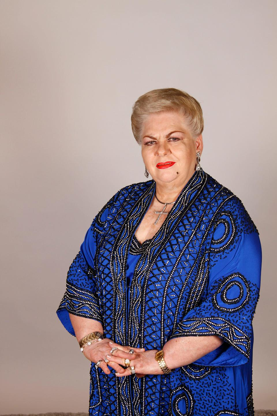 Paquita la del BarrioPaquita, the Grammy-nominated Mexicansinger, born Francisca Viveros Barradas, started her career in Mexico City in the '70s performing at local bars and restaurants.