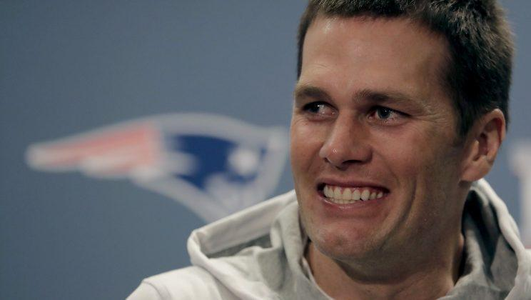 Tom Brady will play in his seventh Super Bowl on Sunday. (AP)