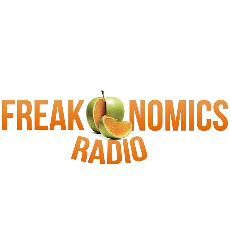 """<p><a class=""""body-btn-link"""" href=""""https://podcasts.apple.com/us/podcast/freakonomics-radio/id354668519"""" target=""""_blank"""">LISTEN NOW</a></p><p><a href=""""http://freakonomics.com/"""" target=""""_blank"""">Freakonomics Radio</a>'s tagline is """"the hidden side of everything"""" and it more than lives up to its name with episodes exploring everything from the development of 23andMe, to how economic principals play out in the animal kingdom, to why it's so difficult for people to change their minds. The episodes are intelligent and technical enough to entertain those familiar with economics but also approachable enough to hook the econ-averse.</p>"""