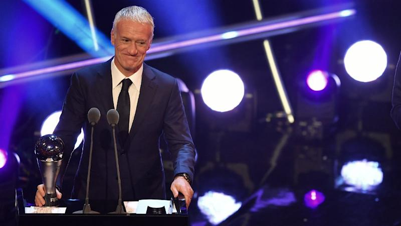 France's Didier Deschamps wins FIFA coach of the year award after World Cup victory