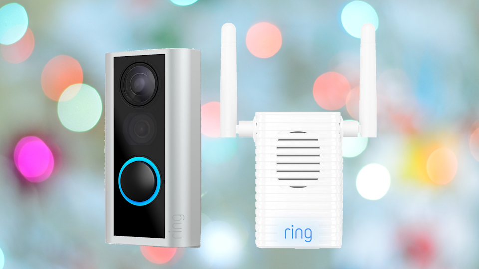 Knock, knock, who's there? You'll know instantly with the Ring Peephole. (Photo: QVC)