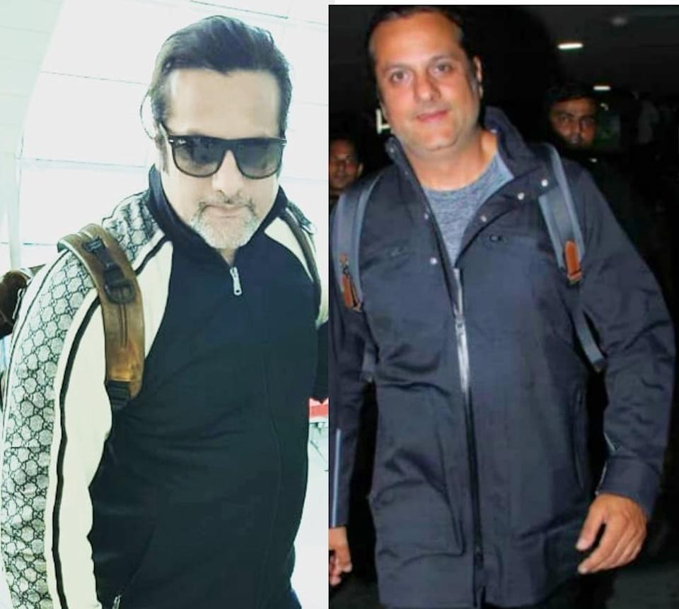 Two years later, the actor was papped up again – this time at the Mumbai Airport - and was looking much healthier and fit after having lost a few pounds. Maintaining a low profile, Fardeen navigated his way across the airport in a track suit, had his hair pulled behind neatly in a pony tail and flashed some amiable smiles at the papz.