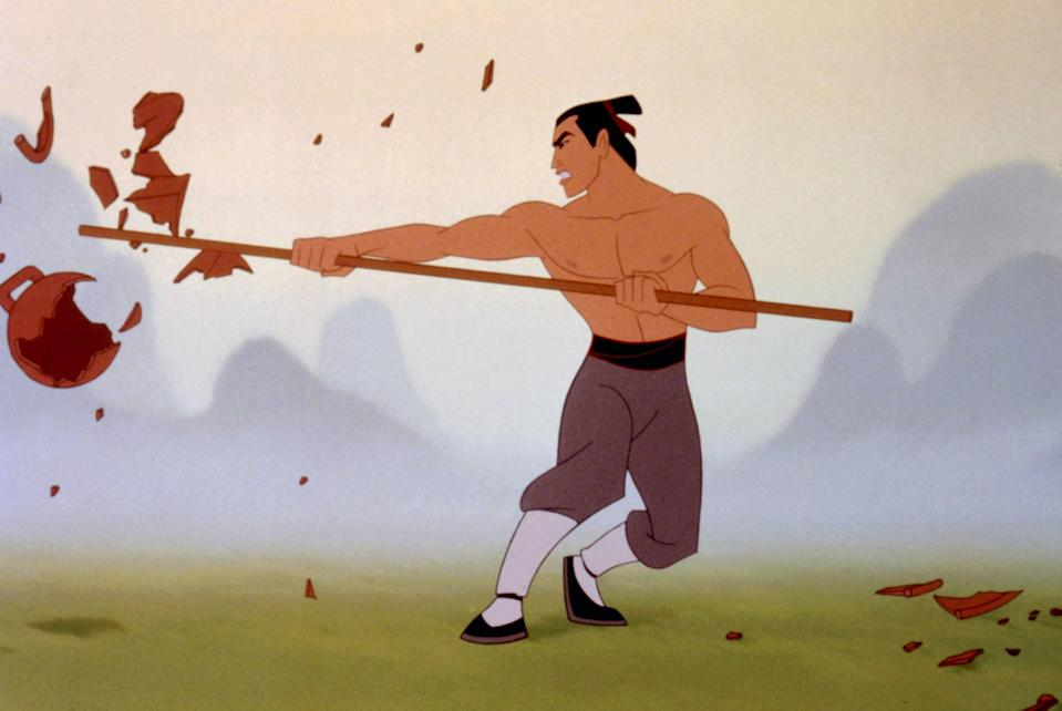 Li Shang won't appear in the live-action remake