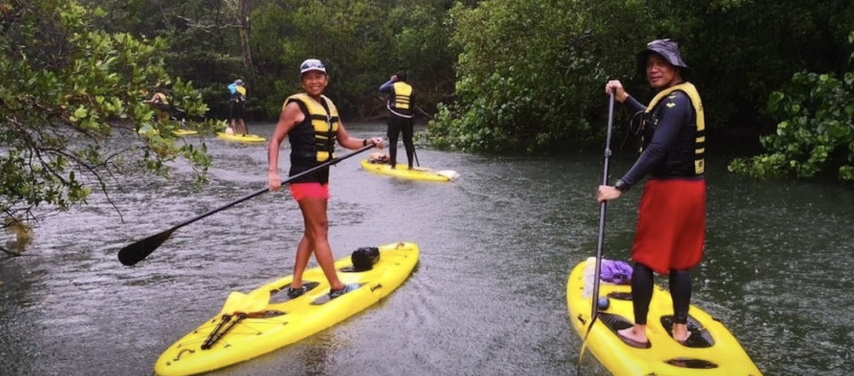 PHOTO: Klook. Outdoor Adventures Stand-Up Paddling Ubin Expedition