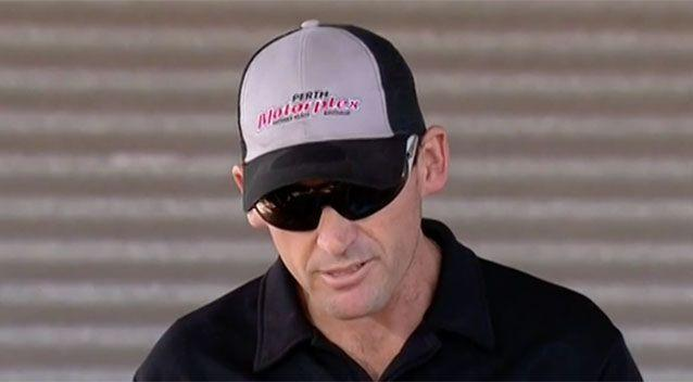 Ian Board, father of a young girl killed while drag racing in Perth, says he wants junior drag racing to continue. Picture: 7 News