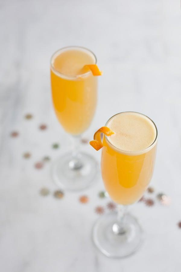 """<p>This honeyed twist on the French 75 cocktail is a go-to choice for Champagne fans. Your classy taste buds will enjoy it undoubtedly. This honey-sweet twist on the classic cocktail is doubled up on ingredients (save for the sparkling wine and garnishes), making for a slightly less effervescent but flavor-packed spin on an old favorite.</p> <p><strong>Get the recipe</strong>: <a href=""""https://www.bourbonandhoney.com/bourbon-honey-french-75/"""" class=""""link rapid-noclick-resp"""" rel=""""nofollow noopener"""" target=""""_blank"""" data-ylk=""""slk:honeyed French 75"""">honeyed French 75</a></p>"""