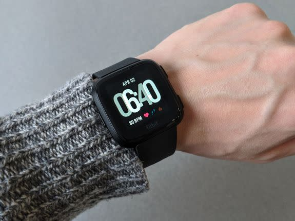 Fitbit's Versa is a great second stab at a smartwatch