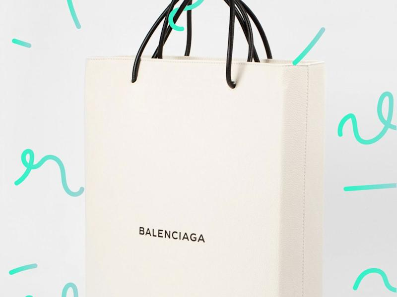 a4ce74bc4c Balenciaga Is Actually Selling A Shopping Bag For  1