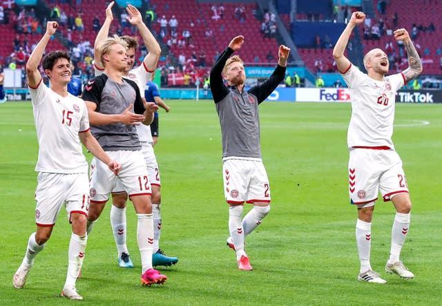 Denmark have rallied after losing their first two group games at Euro 2020 (PA)