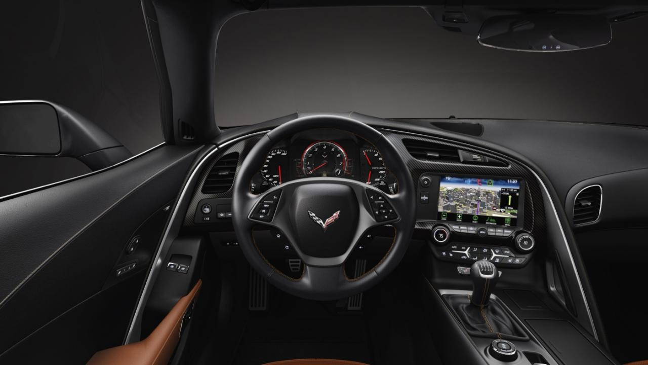 Dash of the new Corvette Stingray