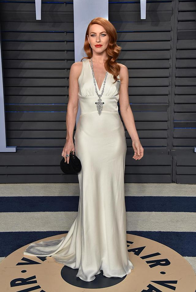 <p>Is it just us, or is the new redhead giving off Courtney-Love-at-the-1995-Oscars vibes? (Photo: John Shearer/Getty Images) </p>