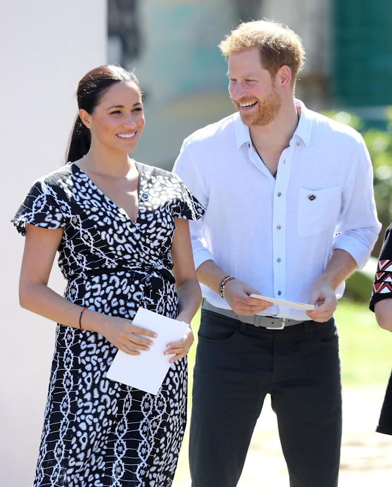 Meghan Markle and Prince Harry May Set Up a Second Home Outside the UK