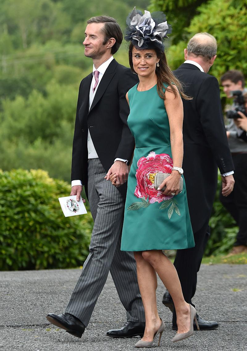 Pippa Middleton and Husband James Matthews Step Out for Friend's Wedding in Ireland
