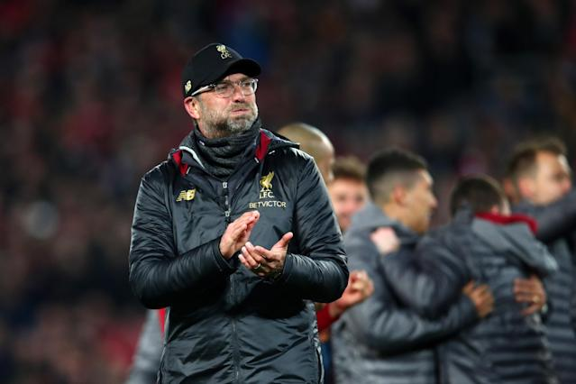 The Reds pulled off the near-impossible by fighting back from three goals down to reach the Champions League final, to their manager's surprise