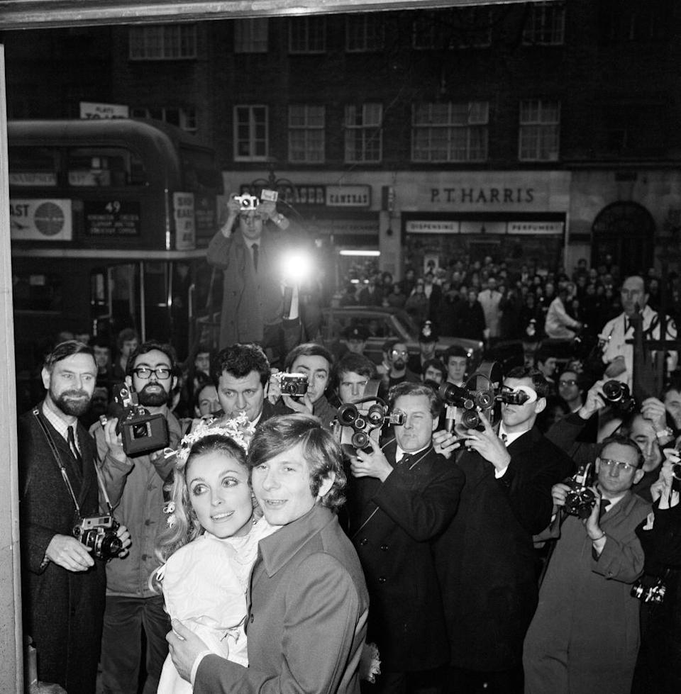 <p>As a couple, Tate and Polanski attracted a lot of attention from the press. Their wedding in 1968 was no different and garnered a lot of press, especially in the UK. </p>