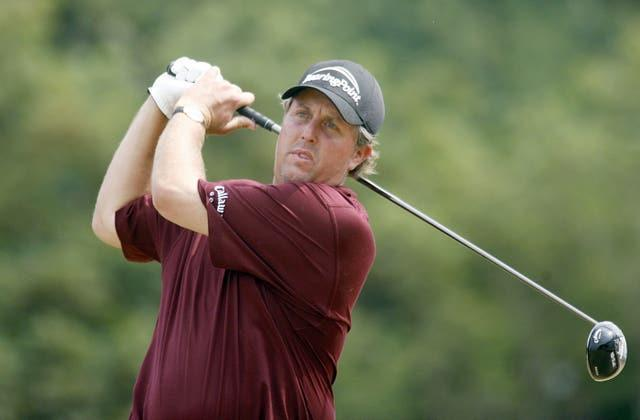 Mickelson posted a final-round three-under-par 69 that put him on seven under for the tournament (Peter Byrne/PA).
