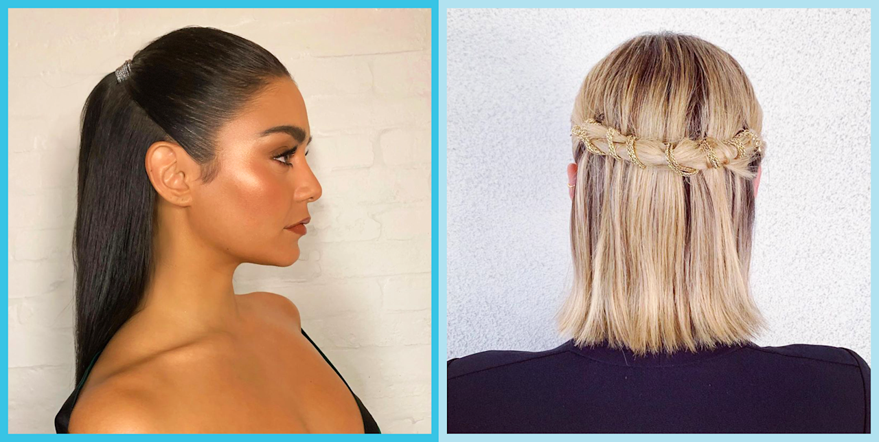 """<p>If the only two straight-hair <a href=""""https://www.cosmopolitan.com/hairstyles-haircut-trends/"""" target=""""_blank"""">hairstyles</a> you can think of are, uhh, behind your shoulders or in front of your shoulders...it's time to live a little. Yes, straight hair <em>seem</em><em></em> a little limiting as far as fancy styles go, but I'm here to prove to you that with the right style tricks and tools, you can make your hair feel completely new and exciting—basically, giving you a whole new hair vibe with a cut or color. So grab your <a href=""""https://www.cosmopolitan.com/style-beauty/beauty/g12837010/best-hair-straightener-flat-iron/"""" target=""""_blank"""">flat iron</a> and your <a href=""""https://www.cosmopolitan.com/style-beauty/beauty/g29190618/best-hair-straightening-creams-products/"""" target=""""_blank"""">hair-straightening creams</a> and get to work with one of these not-at-all-boring straight hairstyles.</p>"""