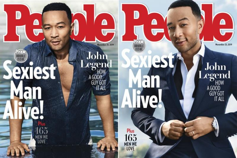 John Legend's Sexiest Man Alive covers | Doug Inglish