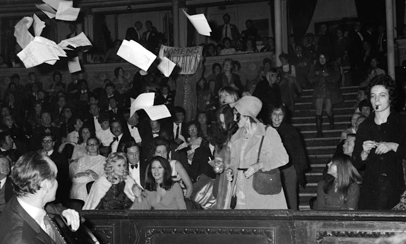Protests at Miss World 1970