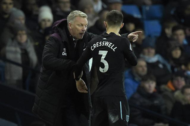 West Ham 'a lot more organised' since David Moyes arrived, says Aaron Cresswell