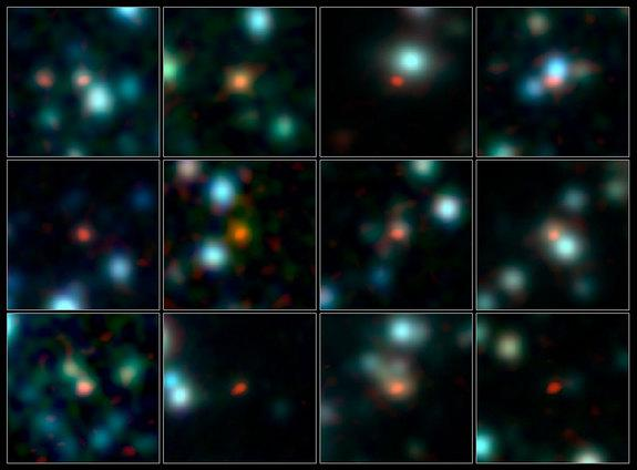 Huge New Radio Telescope Pinpoints Ancient Star-Forming Galaxies (Photo)