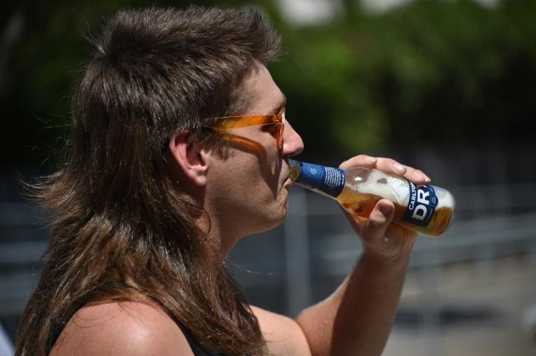 The mullet has remained a staple hairstyle in Kurri Kurri, some 150 kilometres north of Sydney