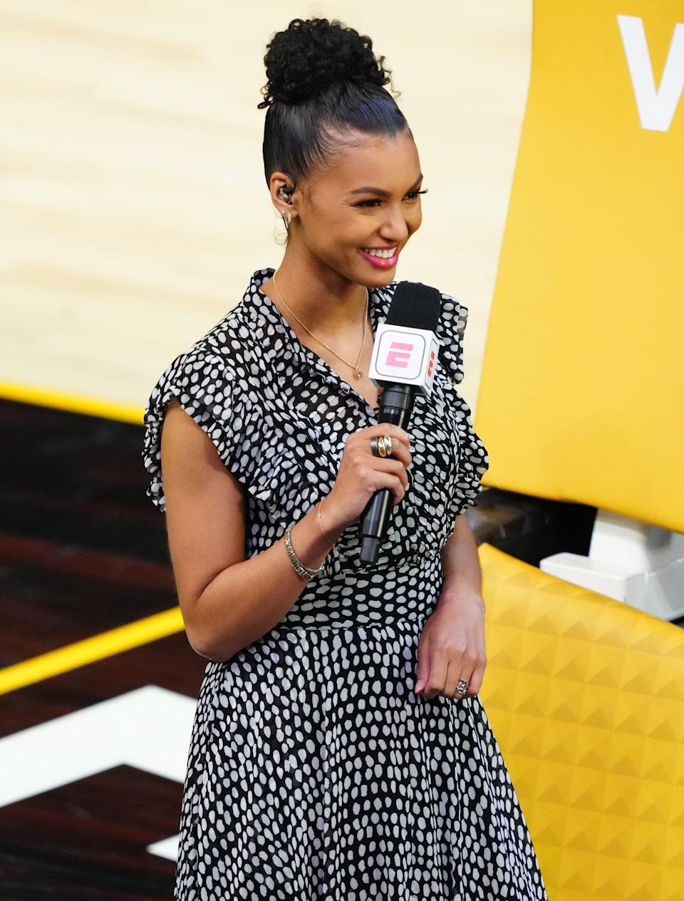 As part of an ongoing effort to overhaul its NBA coverage, Malika Andrews will become the new host of ESPN's new weekday NBA program.