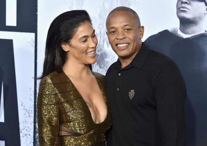 """Nicole Young and record producer Dr. Dre are getting divorced. <span class=""""copyright"""">(Kevin Winter / Getty Images)</span>"""