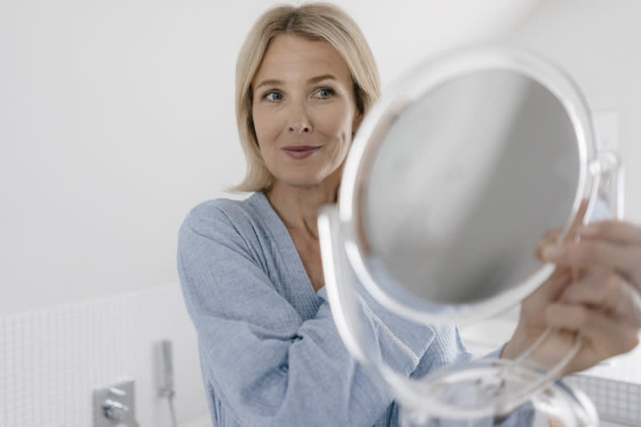 As we age, our skin no longer produces as much collagen - making collagen boosting products a must-have for any skincare routine. (Image via Getty Images)