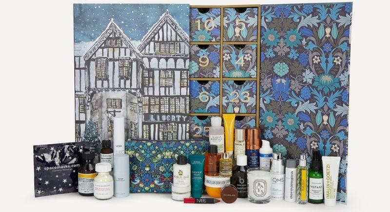 This year Liberty's coveted beauty advent calendar is filled with almost £800 worth of products, which can be purchased for only S$410. (PHOTO: Liberty London)