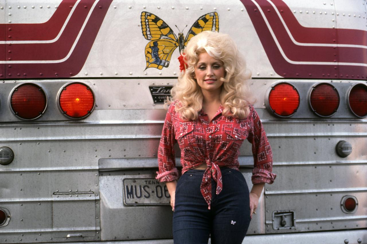 <p>Tennessee songbird, catchy tune factory and honoree at the Grammy's for her contribution to the music industry, Dolly Parton is a living legend. Here are her most glorious and jazzy outfits.</p>
