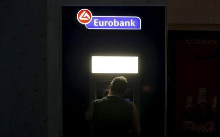 A man reacts after failing to get money from an ATM on the Greek island of Santorini, Greece, July 1, 2015. REUTERS/Cathal McNaughton