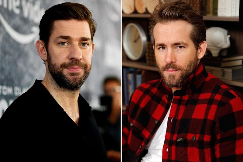 John Krasinski reportedly teaming with Ryan Reynolds