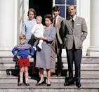 <p>On her 39th birthday, The Queen poses with her family at Frogmore House, Windsor. (PA Archive) </p>