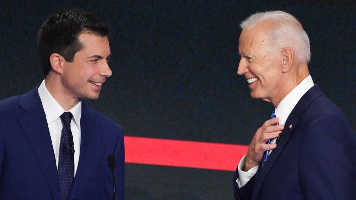 Biden's Plan to Take Down Warren: Have Mayor Pete Do It