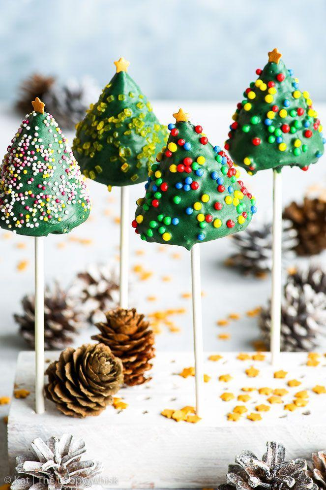 """<p>Enlist your children to help decorate these <a href=""""https://www.amazon.com/Wilton-Edible-Glitter-Stars-Ounce/dp/B003KK9HD8?tag=syn-yahoo-20&ascsubtag=%5Bartid%7C10050.g.22841709%5Bsrc%7Cyahoo-us"""" rel=""""nofollow noopener"""" target=""""_blank"""" data-ylk=""""slk:sprinkle-covered"""" class=""""link rapid-noclick-resp"""">sprinkle-covered</a> trees.</p><p><strong>Get the recipe at <a href=""""https://theloopywhisk.com/2017/12/11/gluten-free-christmas-cake-pops-4-ways-video/"""" rel=""""nofollow noopener"""" target=""""_blank"""" data-ylk=""""slk:The Loopy Whisk"""" class=""""link rapid-noclick-resp"""">The Loopy Whisk</a>.</strong></p><p><a class=""""link rapid-noclick-resp"""" href=""""https://www.amazon.com/Cuisinart-Classic-Nonstick-Hard-Anodized-Saucepan/dp/B00213JO92?tag=syn-yahoo-20&ascsubtag=%5Bartid%7C10050.g.22841709%5Bsrc%7Cyahoo-us"""" rel=""""nofollow noopener"""" target=""""_blank"""" data-ylk=""""slk:SHOP SAUCEPANS"""">SHOP SAUCEPANS</a></p>"""