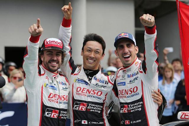 "<p>Toyota put an end to almost two decades of heartache at the Le Mans 24 Hours race by finally winning it this year. Led by Spanish F1 driver Fernando Alonso ...</p> <p>The post <a href=""https://www.carmudi.com.ph/journal/toyota-finally-wins-le-mans-24-hours/"" rel=""nofollow noopener"" target=""_blank"" data-ylk=""slk:Toyota Finally Wins at Le Mans 24 Hours"" class=""link rapid-noclick-resp"">Toyota Finally Wins at Le Mans 24 Hours</a> appeared first on <a href=""https://www.carmudi.com.ph/journal"" rel=""nofollow noopener"" target=""_blank"" data-ylk=""slk:Carmudi Philippines"" class=""link rapid-noclick-resp"">Carmudi Philippines</a>.</p>"