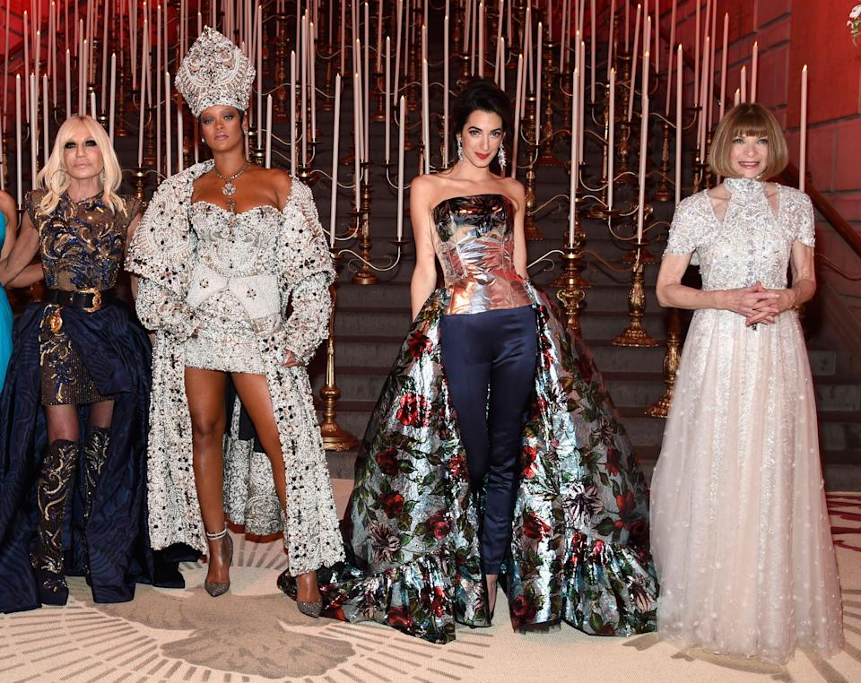 The Met Gala is the biggest day for the fashion pack. Photo: Getty Images