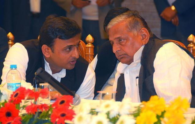 Akhilesh Humiliated Me Like No One: Mulayam Hits Out at Akhilesh