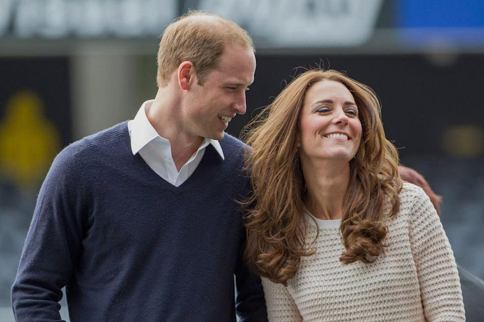<p>The couple was photographed looking so relaxed and happy during their three-week royal tour of Australia and New Zealand back in 2014. </p>