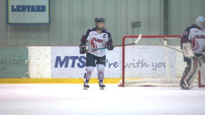 Top-level female hockey players hit MTS Iceplex for Female World Sport School Challenge